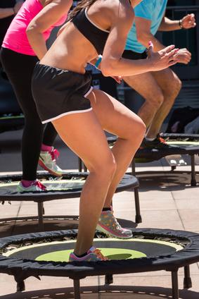 Fitness Trampolin