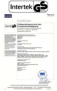 GS-Zertifikat