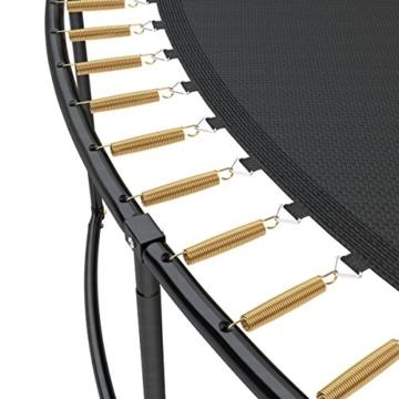 Ampel 24 Deluxe Trampolin 490 cm Komplettset mit Netz | Riesen XXL Trampolin mit dem Maximum an Sicherheit | belastbar bis 180 kg - 3