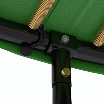 Ampel 24 Deluxe Trampolin 490 cm Komplettset mit Netz | Riesen XXL Trampolin mit dem Maximum an Sicherheit | belastbar bis 180 kg - 4