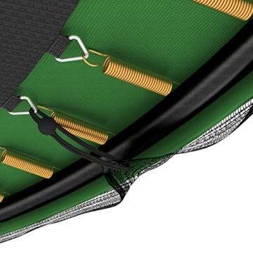 Ampel 24 Deluxe Trampolin 490 cm Komplettset mit Netz | Riesen XXL Trampolin mit dem Maximum an Sicherheit | belastbar bis 180 kg - 8