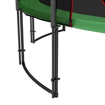 Ampel 24 Deluxe Trampolin 490 cm Komplettset mit Netz | Riesen XXL Trampolin mit dem Maximum an Sicherheit | belastbar bis 180 kg - 9