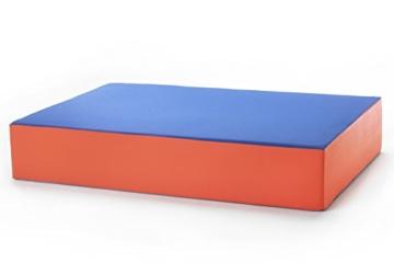 Hüpfmatratze in tollen Farben für alle kleinen Hüpfer 107x70x17 cm - 2