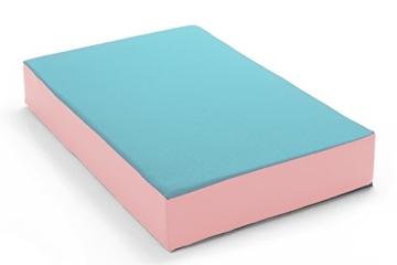 Hüpfmatratze in tollen Farben für alle kleinen Hüpfer 107x70x17 cm - 1