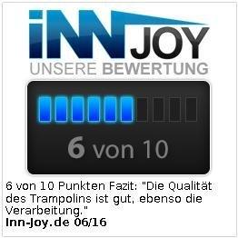 infactory 4in1-Trampolin für Wasser und Garten - 7