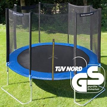 Ultrasport Gartentrampolin Jumper inkl. Sicherheitsnetz, Blau, 305 cm, 330700000120 - 2