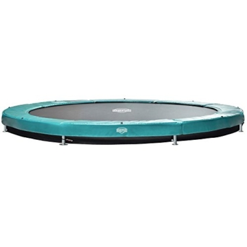 Bergtoys Trampolin Elite+ grün 430 cm inkl. T-Series Netz - InGround - 2