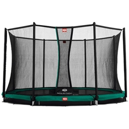 Bergtoys Trampolin Favorit 430 cm inkl. Comfort Netz - InGround - 1