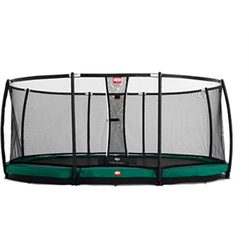 Bergtoys Trampolin Grand Champion 515 x 365 cm inkl. Netz - InGround - 1