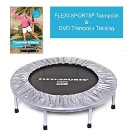 "FLEXI-SPORTS® Trampolin zzgl. DVD ""Trampolin Training"" -"